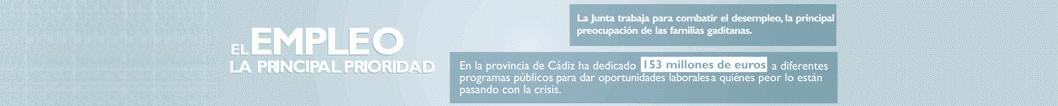 Banner programa empleo Junta