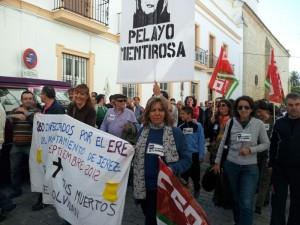 Manifestación huelga general en Jerez