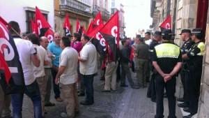 protesta CGT