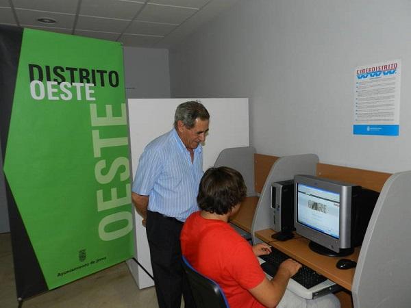 Reactivado el servicio de acceso gratuito a internet de los distritos Norte y Oeste