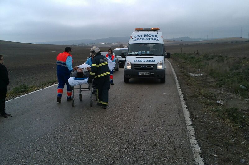 Accidente en Conil