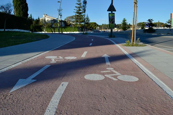 La Junta licita por 7,8 millones la construcción de 24 kilómetros de vía ciclista de Jerez