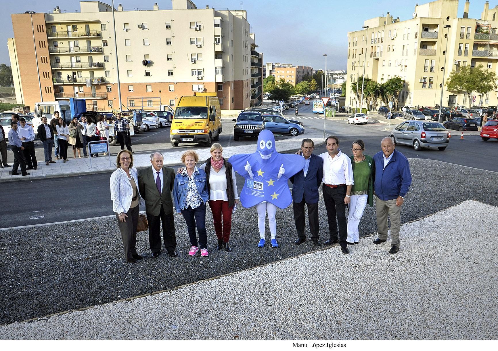 Visita a dos de las obras que están ejecutándose a través del Plan Urban en la zona sur de Jerez