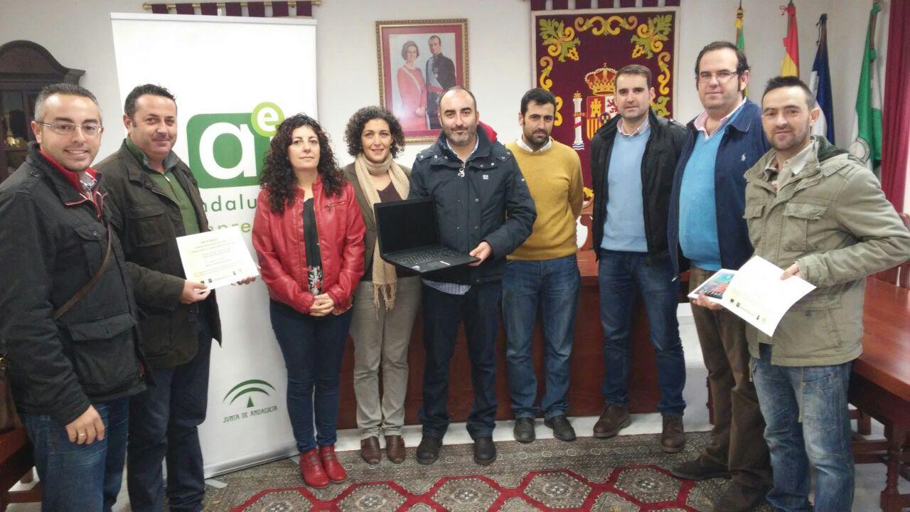 La empresa Hierros y Aluminio Gómez y Almagro gana el Premio La Barca Emprende 2014