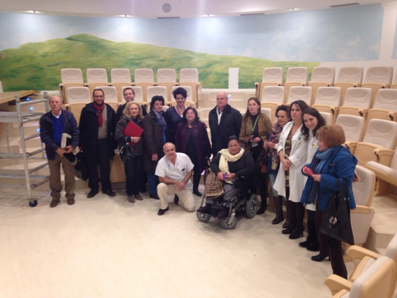 El Hospital de Jerez acoge una reunión de la Comisión de Participación Ciudadana