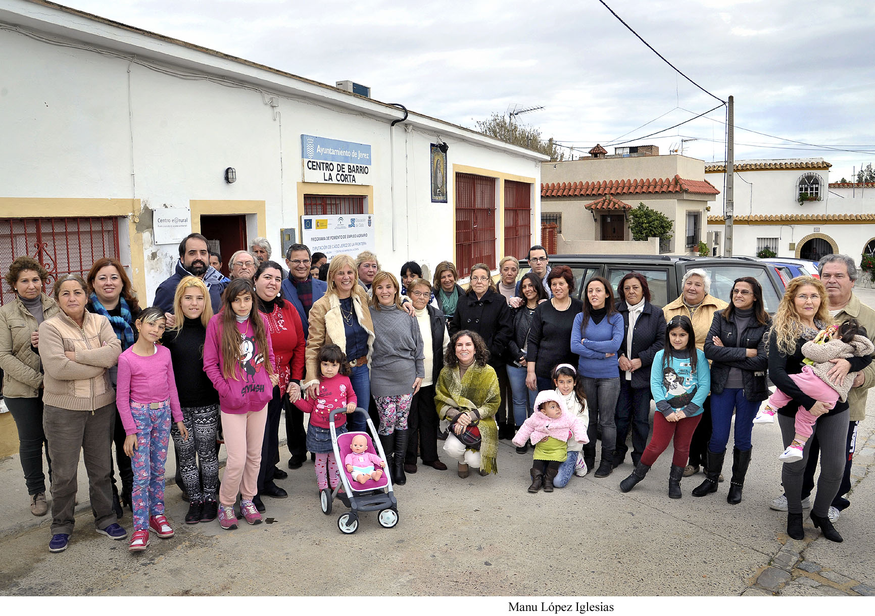 García-Pelayo visita las obras realizadas en La Corta