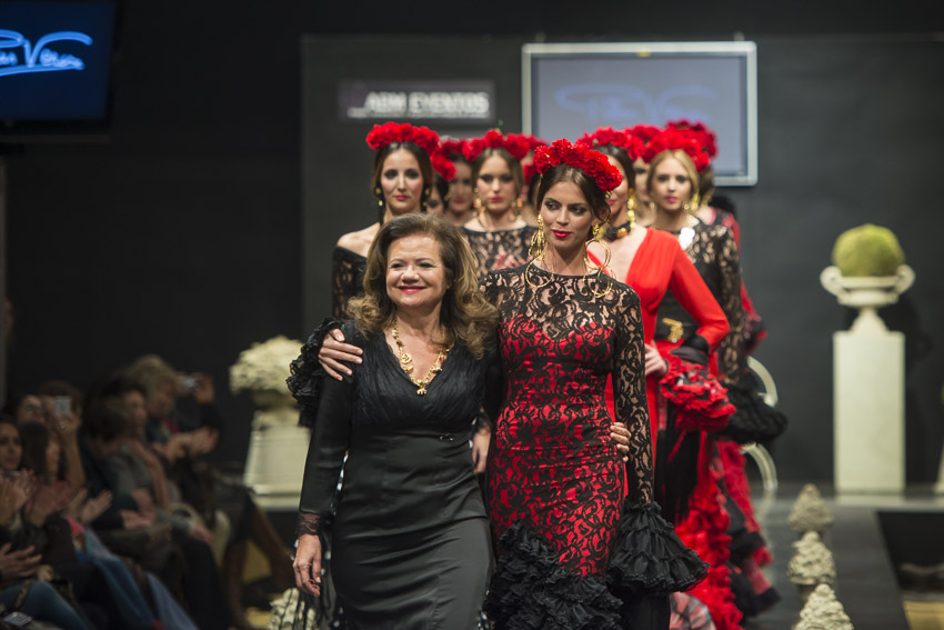 Moda flamenca en la casa de Tío Pepe