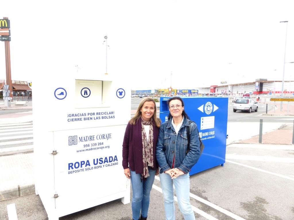 Luz Shopping colabora con Madre Coraje en el reciclaje de residuos