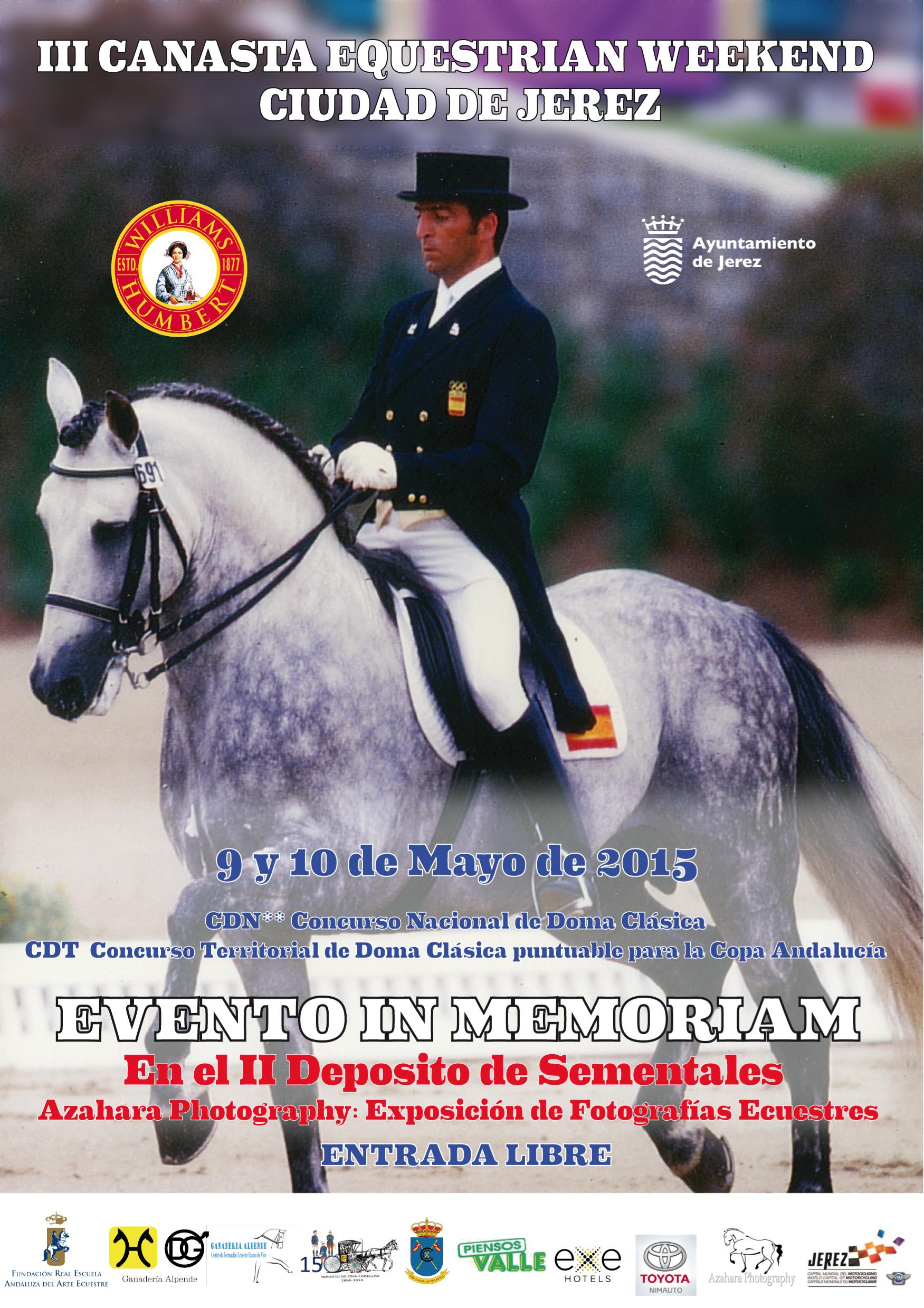 El III Canasta Equestrian Weekend se celebrará este fin de semana en el Antiguo Depósito de Sementales