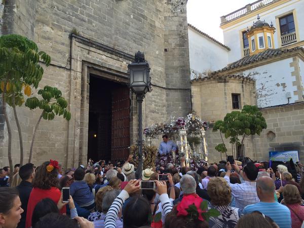 La Hermandad de Jerez iniciará su peregrinación al Rocío el 11 de mayo