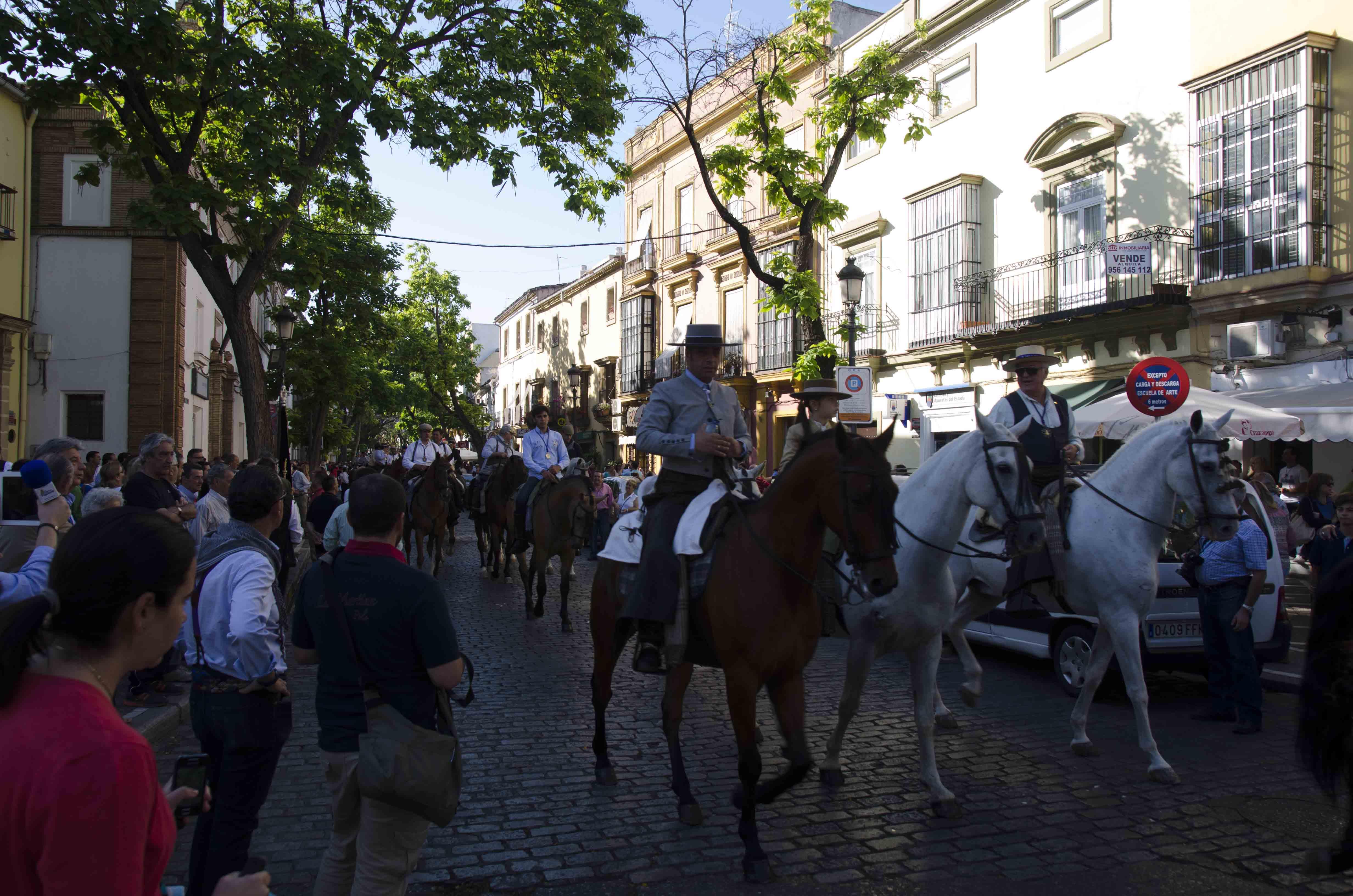Un total de 48 hermandades rocieras, de camino hacia la aldea almonteña bajo la supervisión del Plan Romero