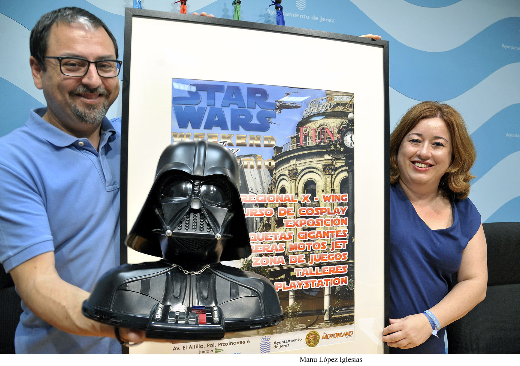 Jerez se prepara para el 'Star Wars Weekend'