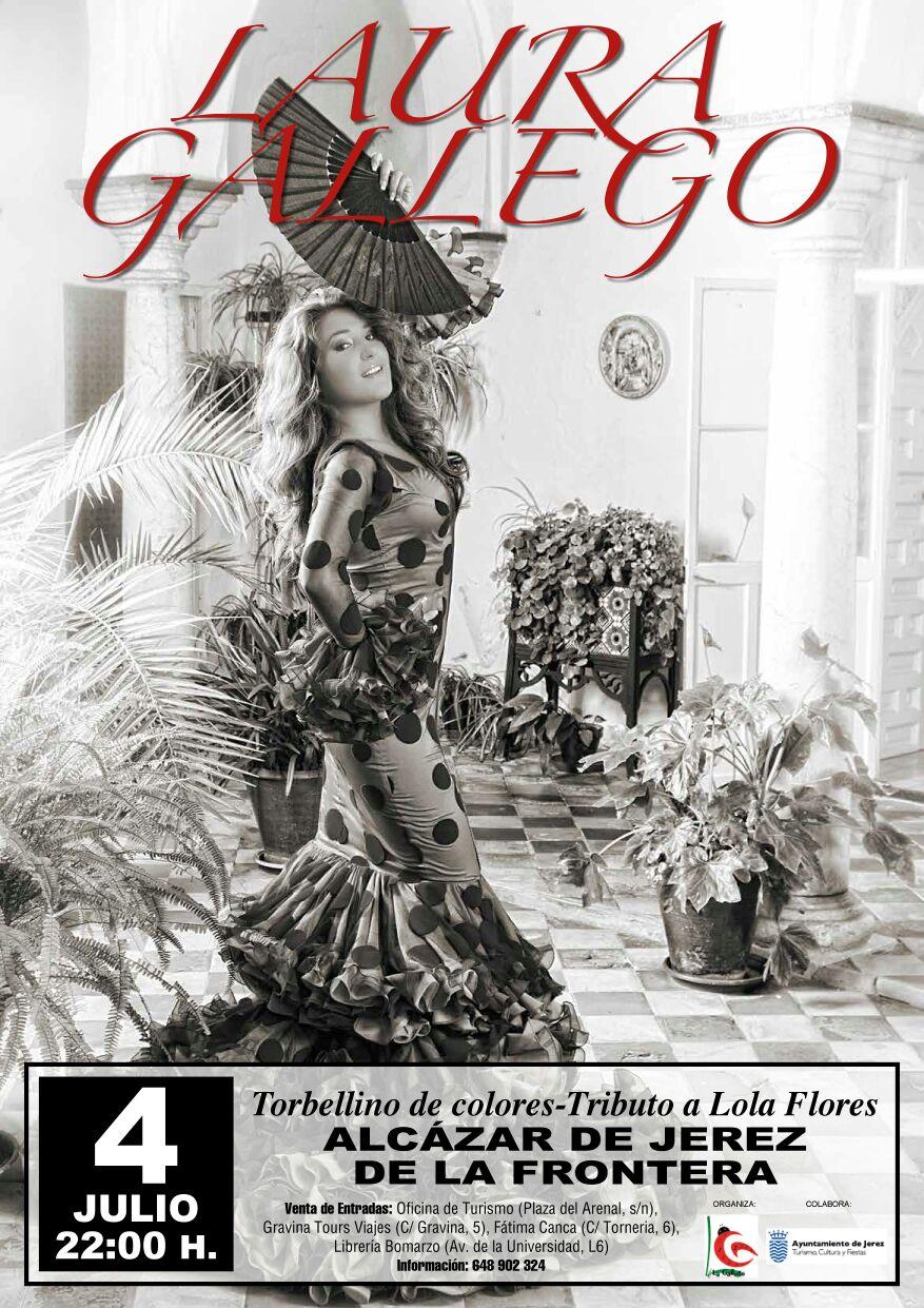 Noches de Verano continúa en El Alcázar con Laura Gallego y su 'Tributo a Lola Flores'