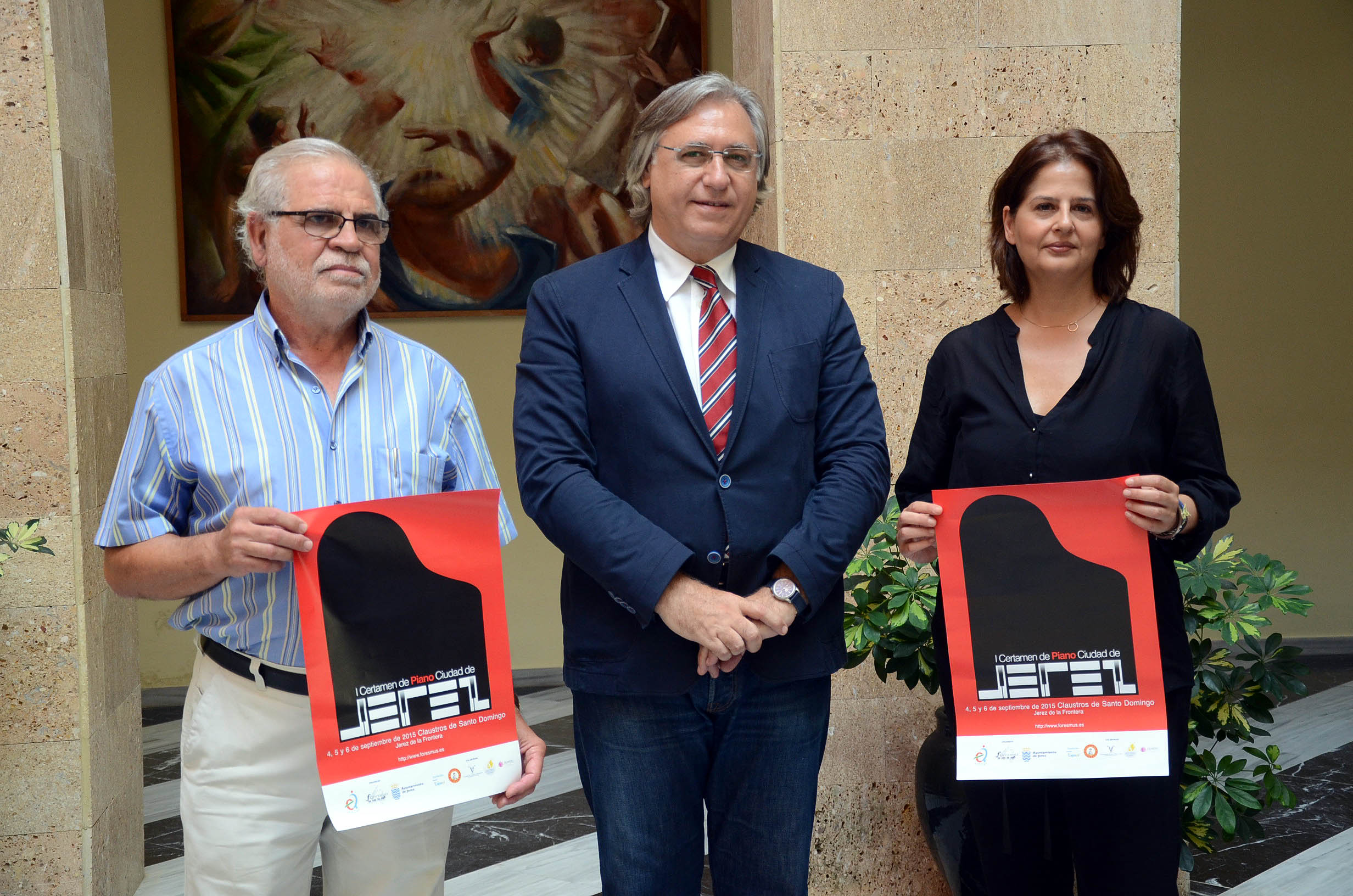 Presentación del I Certamen de Piano Ciudad de Jerez, dirigido a jóvenes intérpretes de toda España