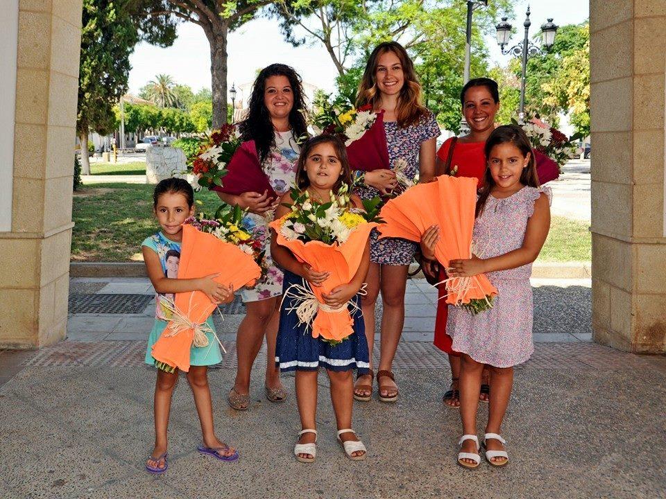 Guadalcacín elige a las reinas y damas de su Feria 2015