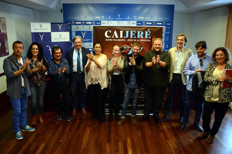 El Villamarta acogerá el 13 de noviembre el espectáculo CAIJEREZ de Cádiz