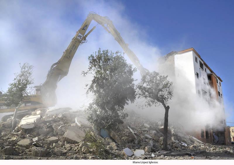 Se inicia la demolición de los últimos cinco bloques de Cerrofruto