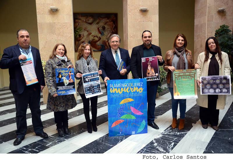 Actividades paralelas en torno al XX Festival de Jerez
