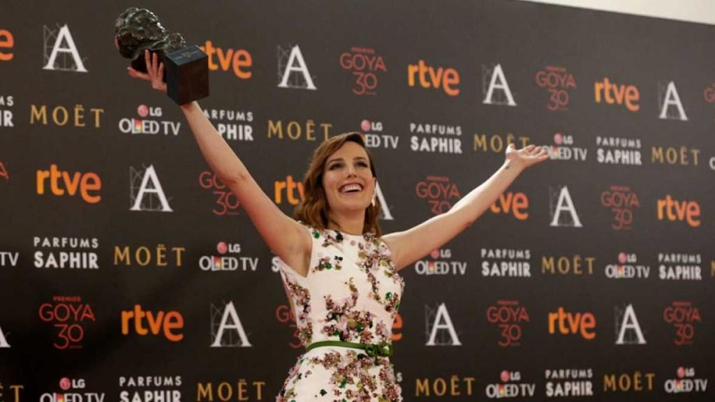 Natalia de Molina, premio Goya a mejor actriz por 'Techo y Comida'