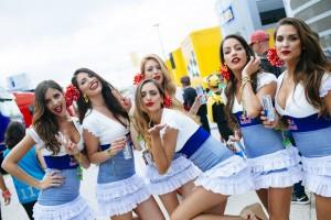 Las chicas del 'paddock' en el Circuito