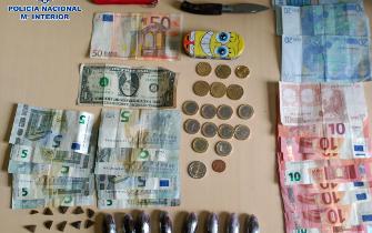 Detenido mientras vendía droga en San Telmo