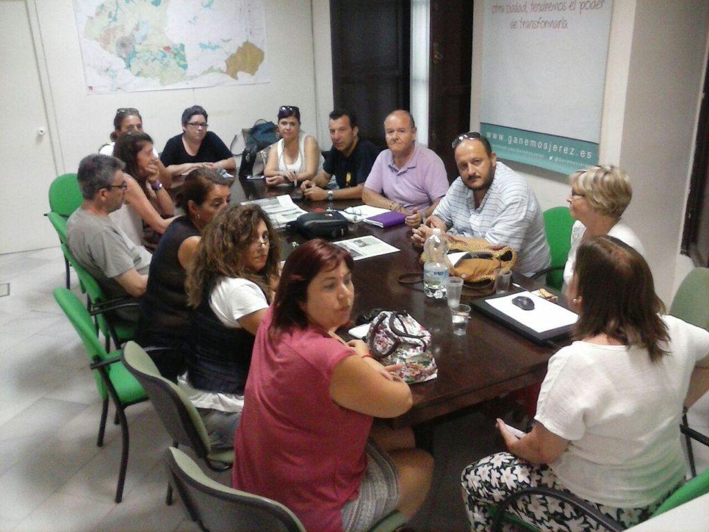Ganemos Jerez muestra su malestar por la falta de presupuestos municipales