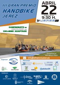 El III Gran Premio Handbike Jerez llega al Circuito
