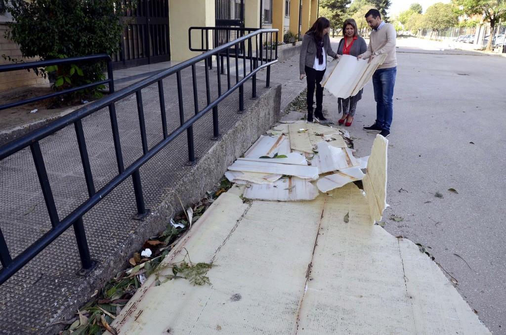 La alcaldesa destaca el dispositivo puesto en marcha a causa del temporal en Jerez