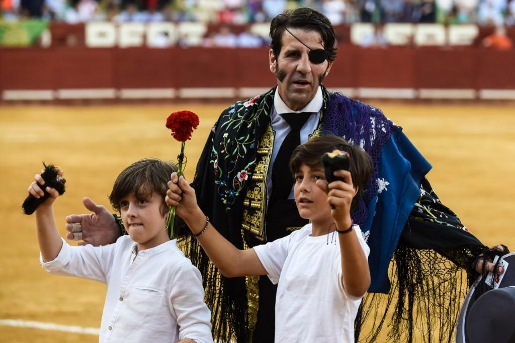 El torero jerezano Juan José Padilla, Premio Nacional de Tauromaquia 2018
