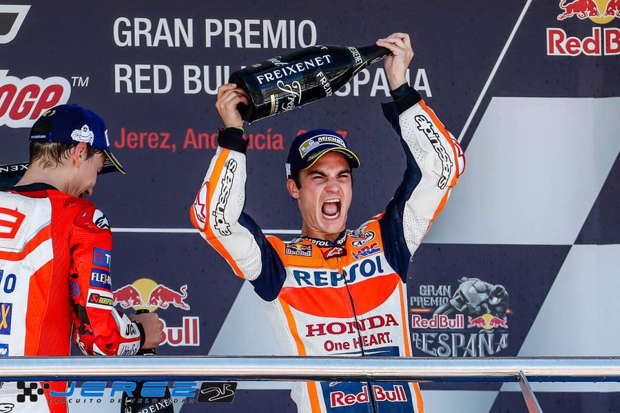 Pleno español en el Gran Premio de Jerez