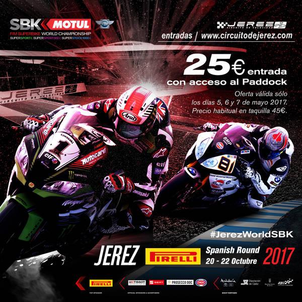 Las entradas del Mundial de Superbikes se venderán durante el Gran Premio de España