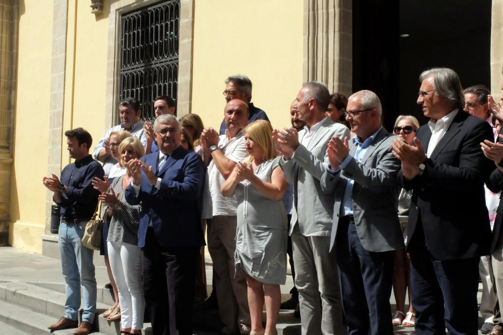Jerez guarda un minuto de silencio en memoria de Miguel Ángel Blanco