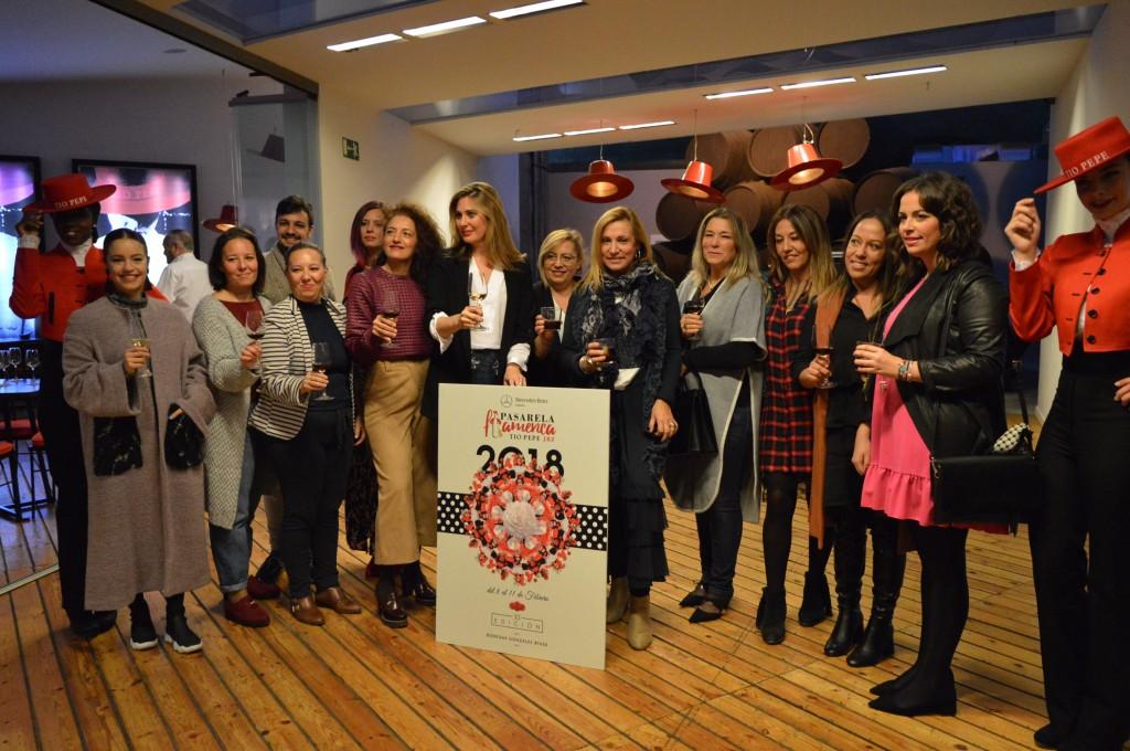 Raquel Bollo y Noelia Margotón, los rostros conocidos de la Pasarela Flamenca Jerez Tío Pepe