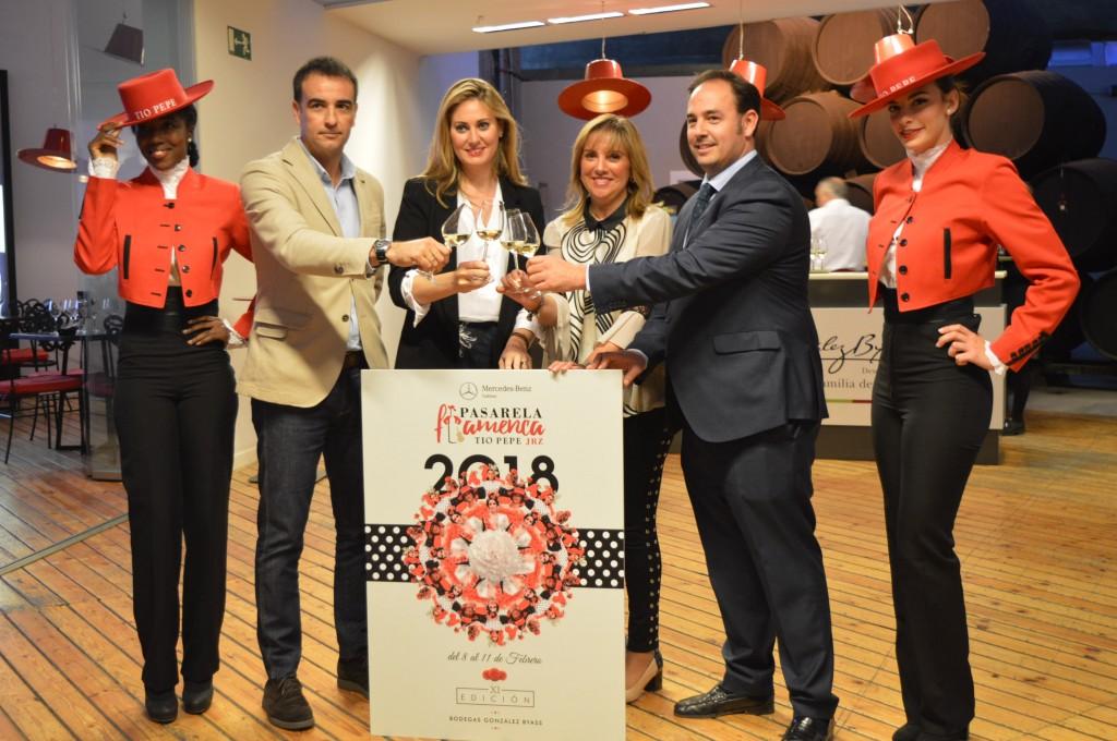 La pasarela flamenca Jerez-Tío Pepe 2018 echa a andar con la presentación oficial