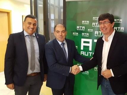 Juan Marín analiza con el presidente de ATA en Jerez la ley de Emprendimiento