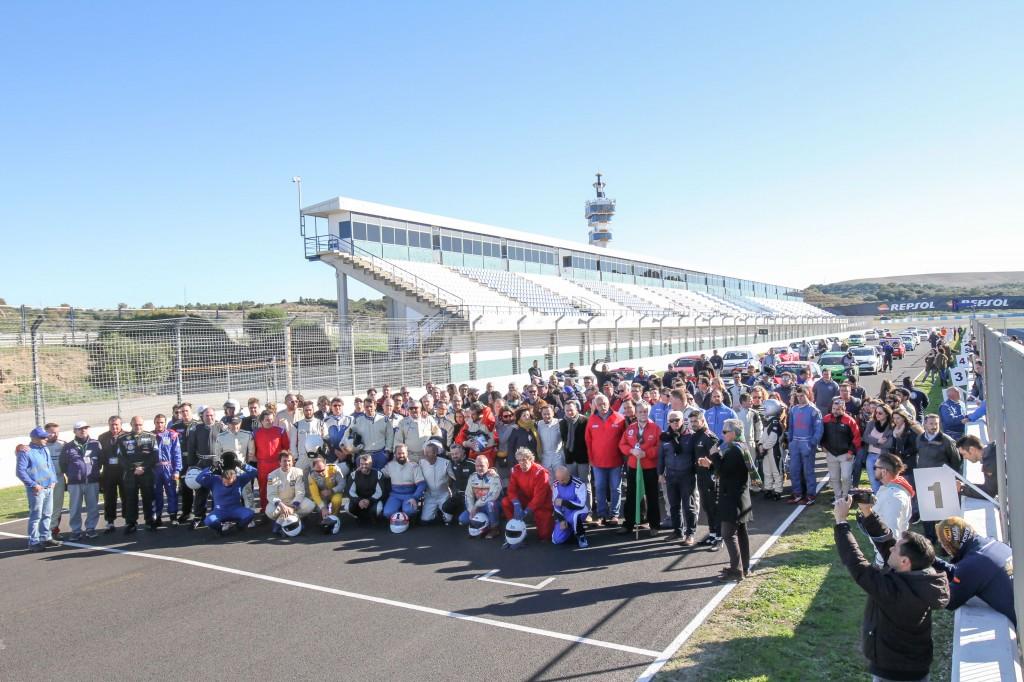 Emotivo homenaje en memoria de Paco Melero en el Trofeo Aniversario del Circuito de Jerez