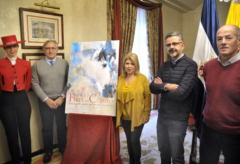 El cartel de la Feria de Jerez se dedica al caballo de Pura Raza Española