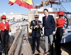 IgnacioPazGarcia_Comandante Capitán de Navío Elcano_MauricioGonzalezGordon_presidente_GonzalezByass