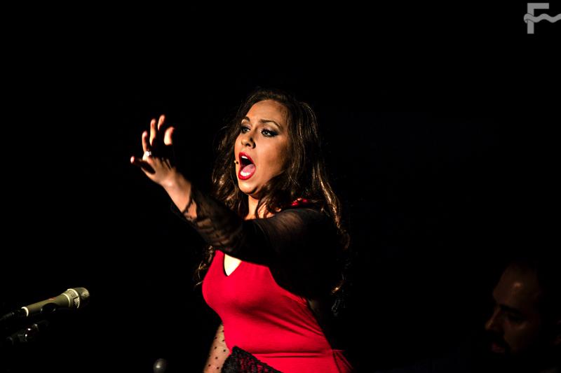 En imágenes, María Terremoto, y las compañías Flamenconautas y José Barrios