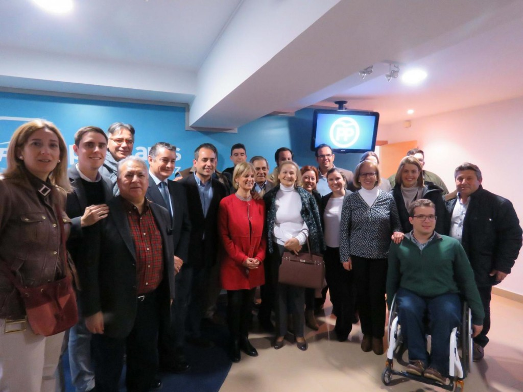 El Partido Popular arranca la campaña electoral en la Alameda Cristina