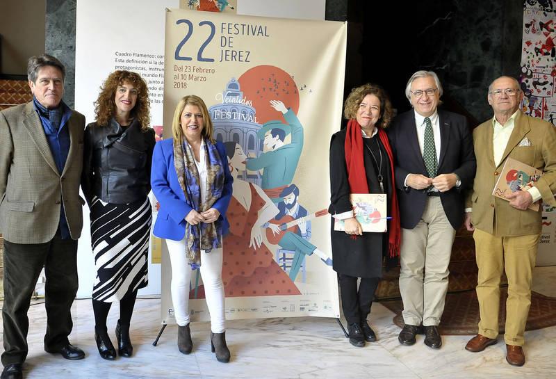 """Mamen Sánchez: """"El Festival de Jerez cada año se supera en calidad y prestigio"""""""