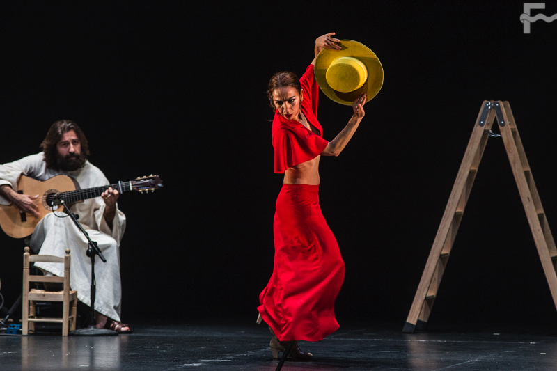 El Festival en imágenes con Juan Ogalla, José Carlos Gómez e Isabel Bayón Compañía Flamenca