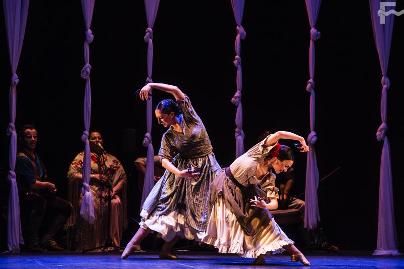 En imágenes; Alejandro Molinero y Ballet Flamenco de Andalucía