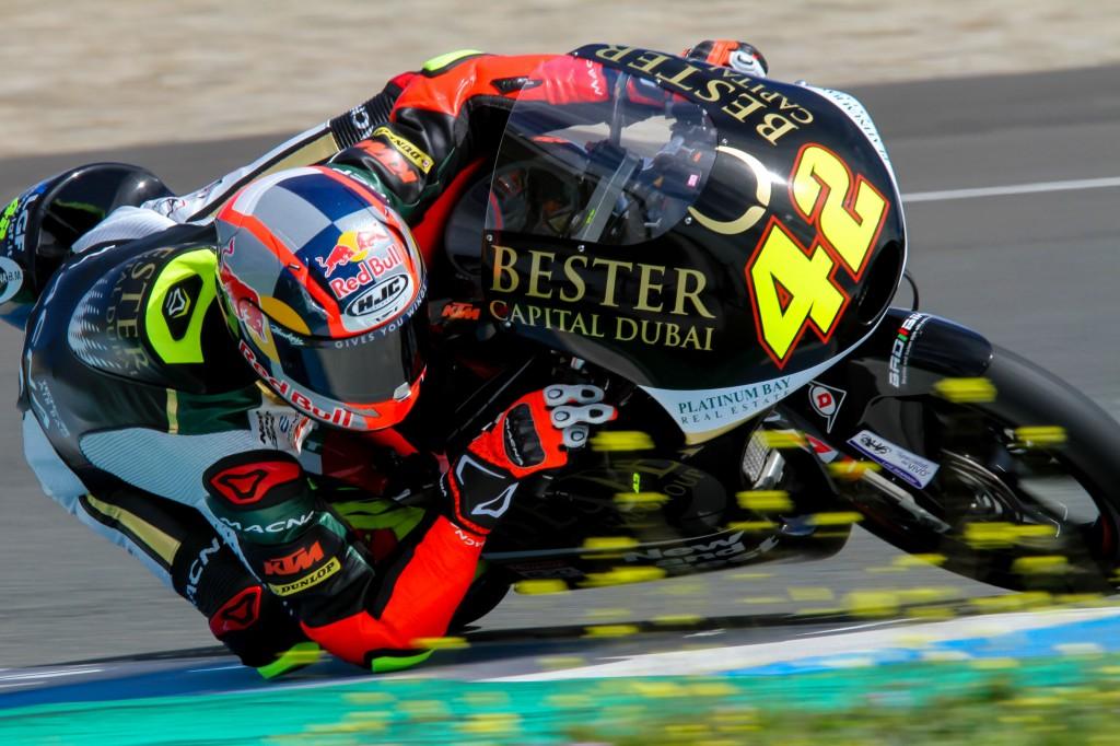 San Lowes, el más rápido de Moto2 en Jerez