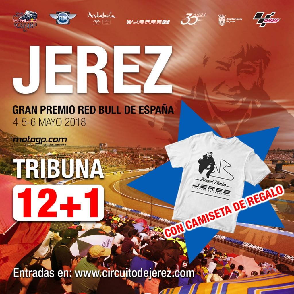 A la venta una nueva Tribuna denominada 12 + 1 en homenaje al piloto Ángel Nieto
