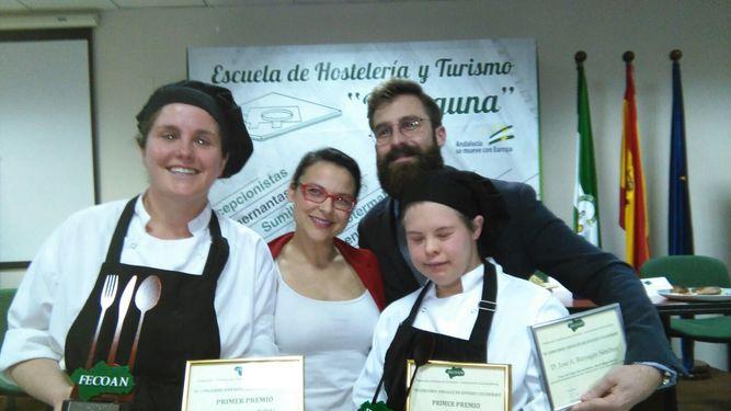 María Macías y Tania Cáceres ganan el IV Concurso Andaluz de Jóvenes Cocineros