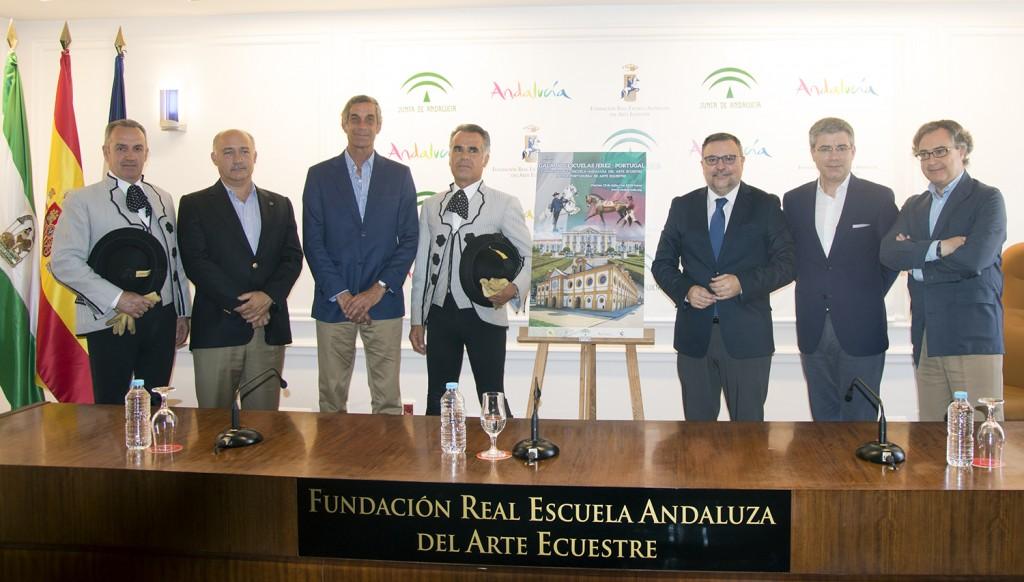 La REAAE y la Escola Portuguesa de Arte Equestre presentan una gala conjunta