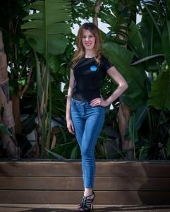 Ana Bizuete, modelo Jerez