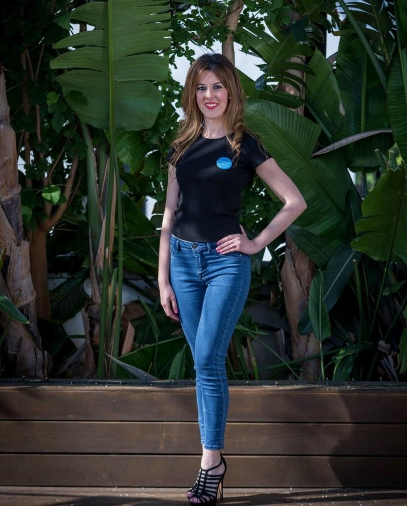 La jerezana Ana Vizuete, finalista del certamen de belleza 'Miss Real Model'