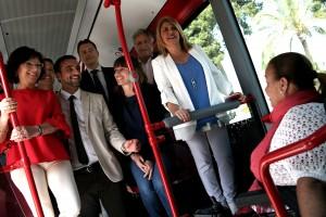 nuevos autobuses interior